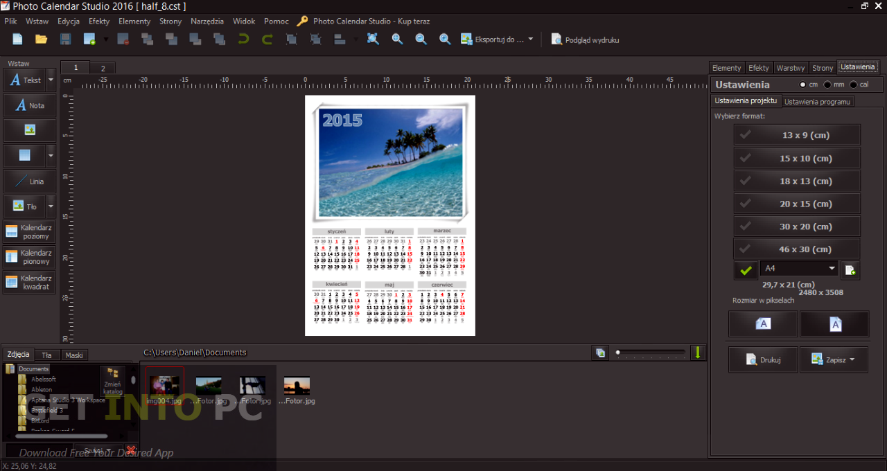 Mojosoft Photo Calendar Studio 2016 Latest Version Download