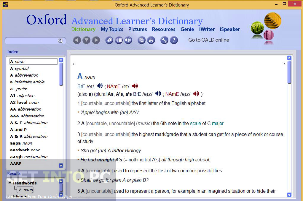 Oxford Advanced Learners Dictionary 9th Edition Latest Version Download