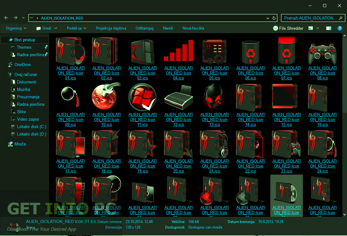 Stardock IconPackager with Alien Isolation Icons Direct Link Download