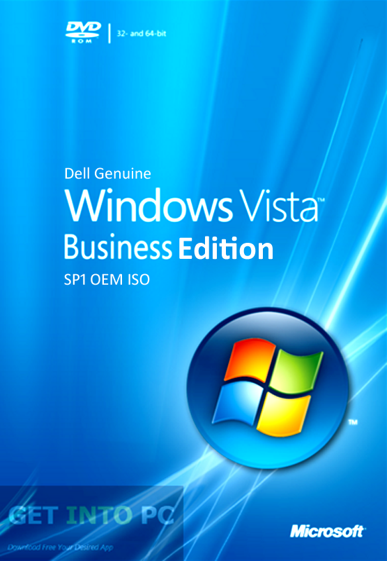 Dell Genuine Windows Vista Business OEM ISO Free Download