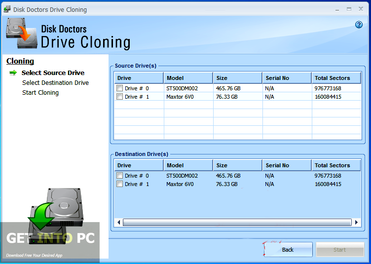 Disk Doctors Drive Cloning Latest Version Download