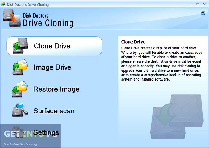 Disk Doctors Drive Cloning Offline Installer Download