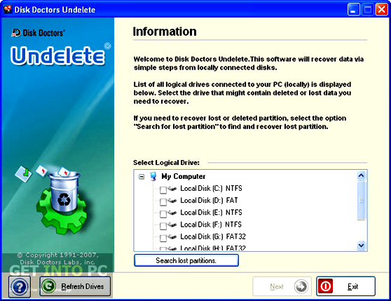 Disk Doctors Undelete Direct Link Download