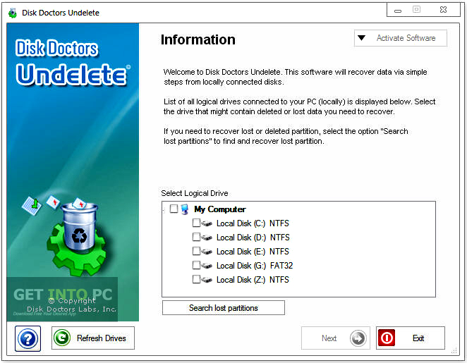Disk Doctors Undelete Latest Version Download
