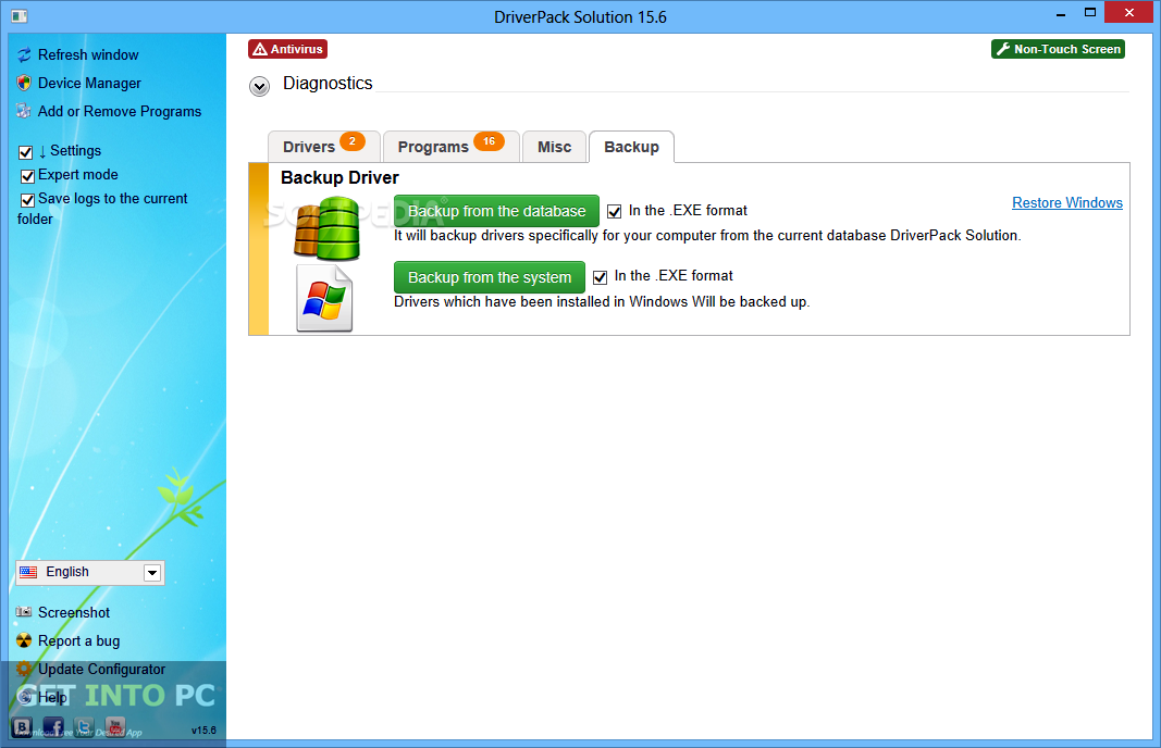 DriverPack Solution 15.10 Latest Version Download