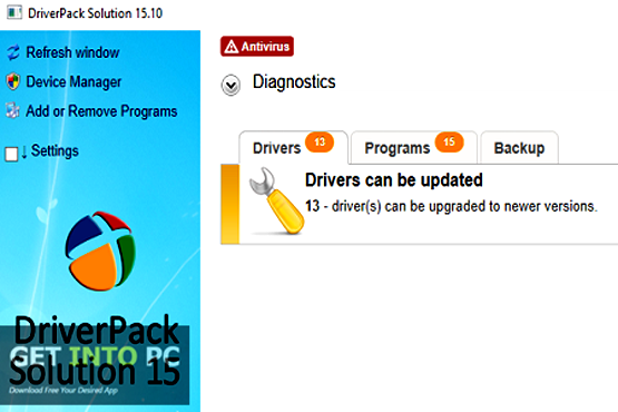DriverPack Solution 15.10 Offline Installer Download