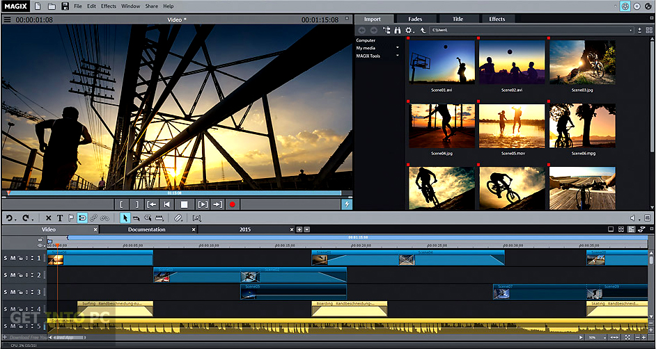 MAGIX Movie Edit Pro 2016 Premium Latest Version Download