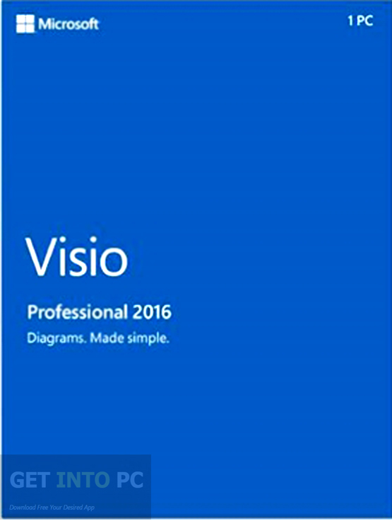 Microsoft Visio Office Pro 2016 RTM 32 64 Bit ISO Download For Free