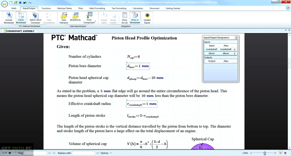 PTC Mathcad Prime 3.1 ISO Latest Version Download