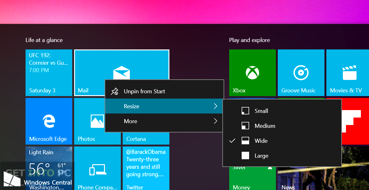 Windows 10 Pro and Home 10558 64 Bit ISO Direct Link Download