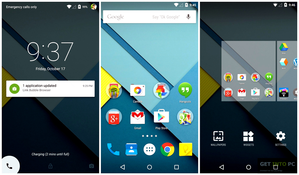 Android Lollipop 5.1 x86 ISO Offline Installer Download