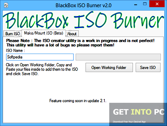 BlackBox ISO Burner Direct Link Download