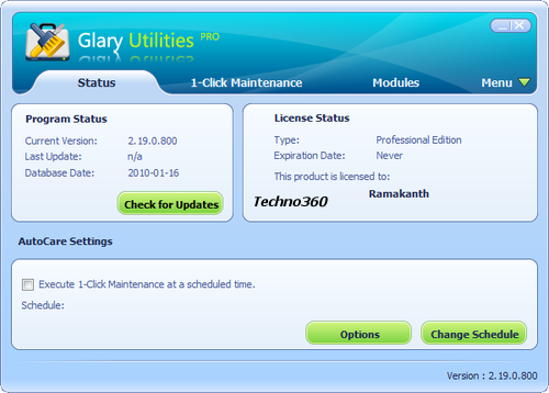 Glary Utilities Pro Direct Link Download