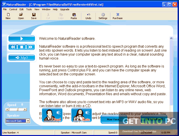 NaturalReader Professional Offline Installer Download