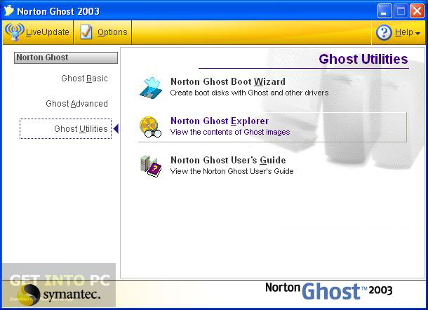 Norton Ghost 2003 Direct Link Download