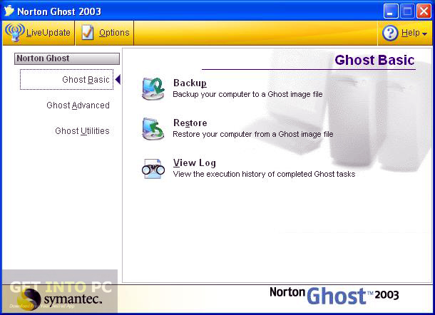 Norton Ghost 2003 Latest Version Download