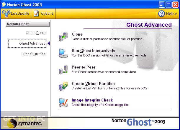 Norton Ghost 2003 Offline Installer Download