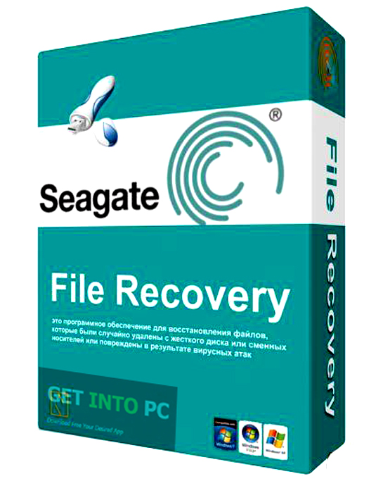 Seagate File Recovery Disk Recovery