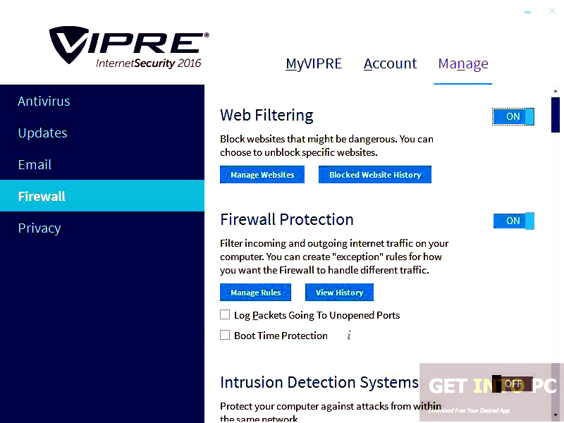 VIPRE Internet Security with Firewall 2016 Latest Version Download
