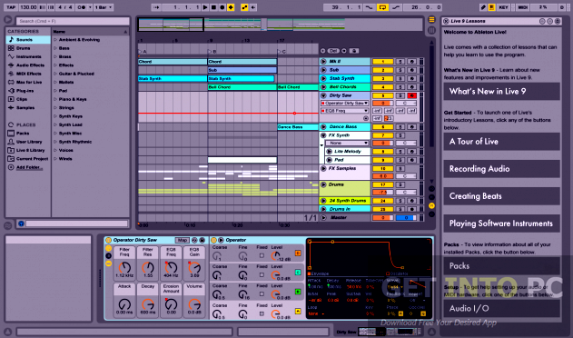 Ableton live Suite v9.5 Direct Link Download