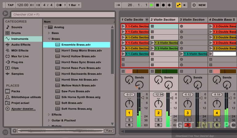 latest version of ableton live