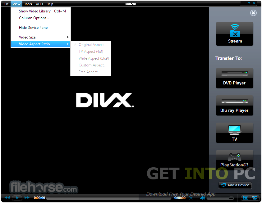 DivXPlus Converter Portable Latest Version Download