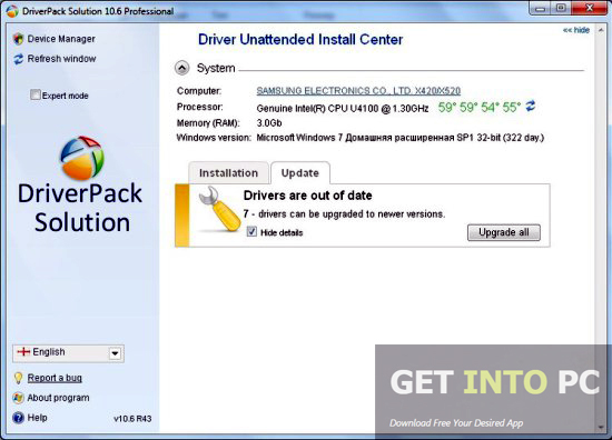 DriverPack Solution 15.12 Direct Link Download