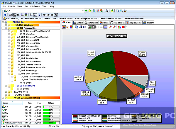 JAM Software TreeSize Professional Direct Link Download