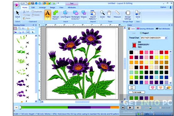 PE Design 6 Embroidery Software Latest Version Download