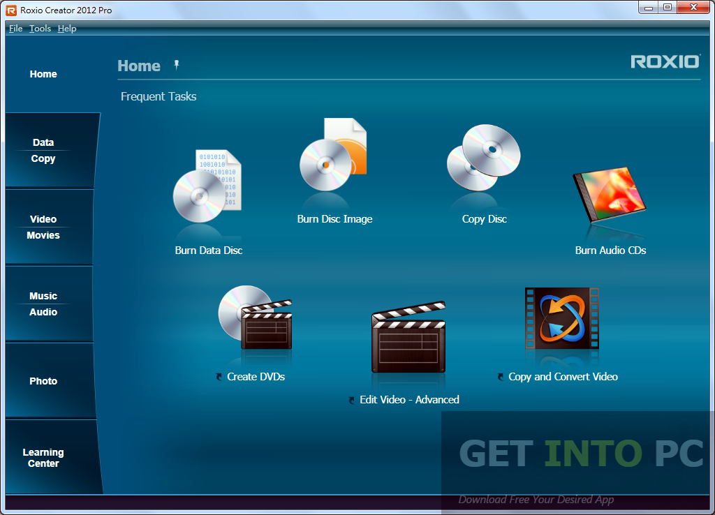 ROXIO Creator 2012 Pro Latest Version Download