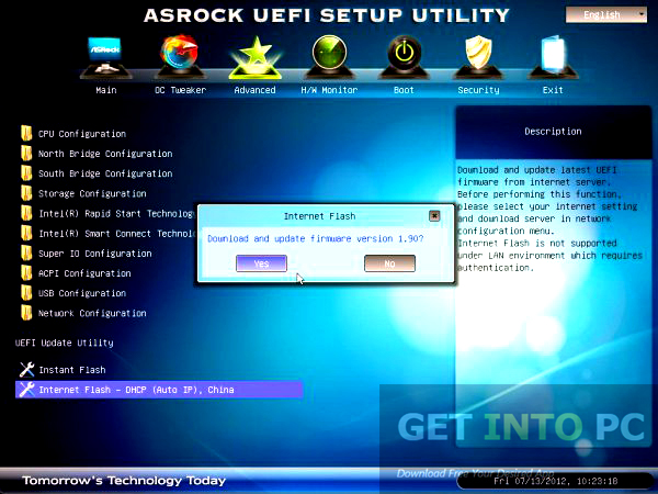UEFI BIOS Updater Direct Link Download