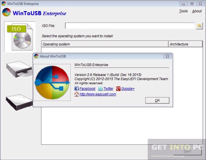 WinToUSB Enterprise 2.6 Release 1 Offline Installer Download
