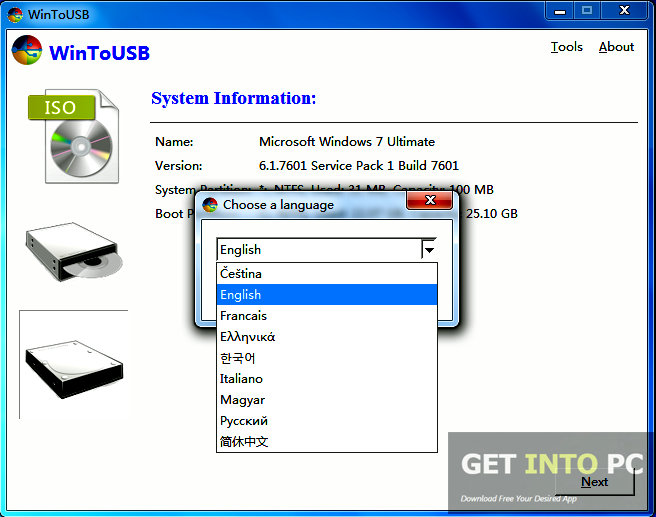 WinToUSB Enterprise Portable Download For Free