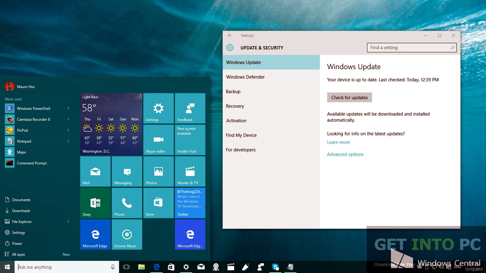 Windows 10 Enterprise Redstone Build 11082 ISO Free ...
