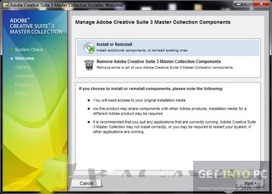 Adobe CS3 Master Collection ISO Direct Link Download