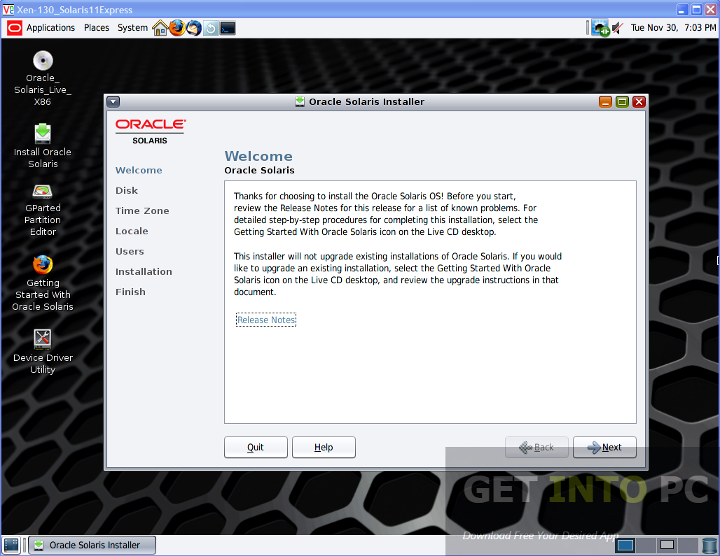 Oracle Solaris 11 Express 2010 Latest Version Download