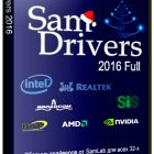 SamDrivers 16.1 ISO Jan 2016 Offline Installer Download
