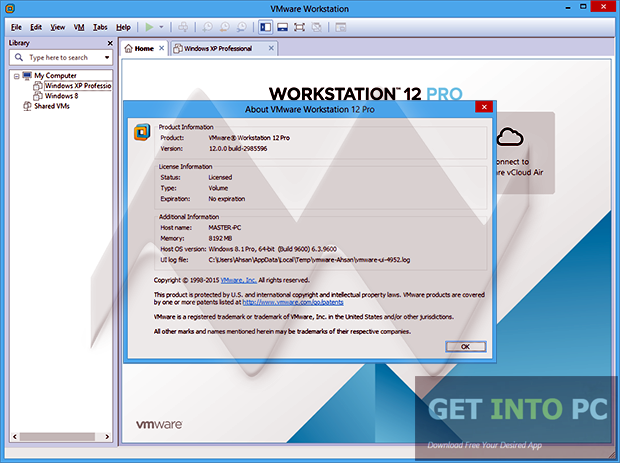 VMware Workstation 12 Pro Latest Version Download