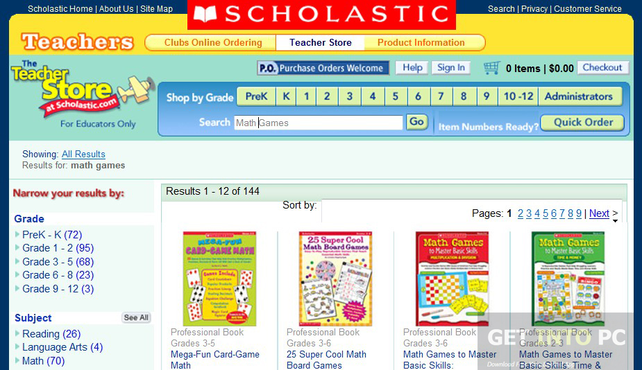 Scholastic Math Kindergarten to 2nd Grade Educational ISO Latest Version Download