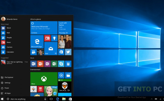 Windows 10 Pro Build 14251 x64 ISO Direct Link Download