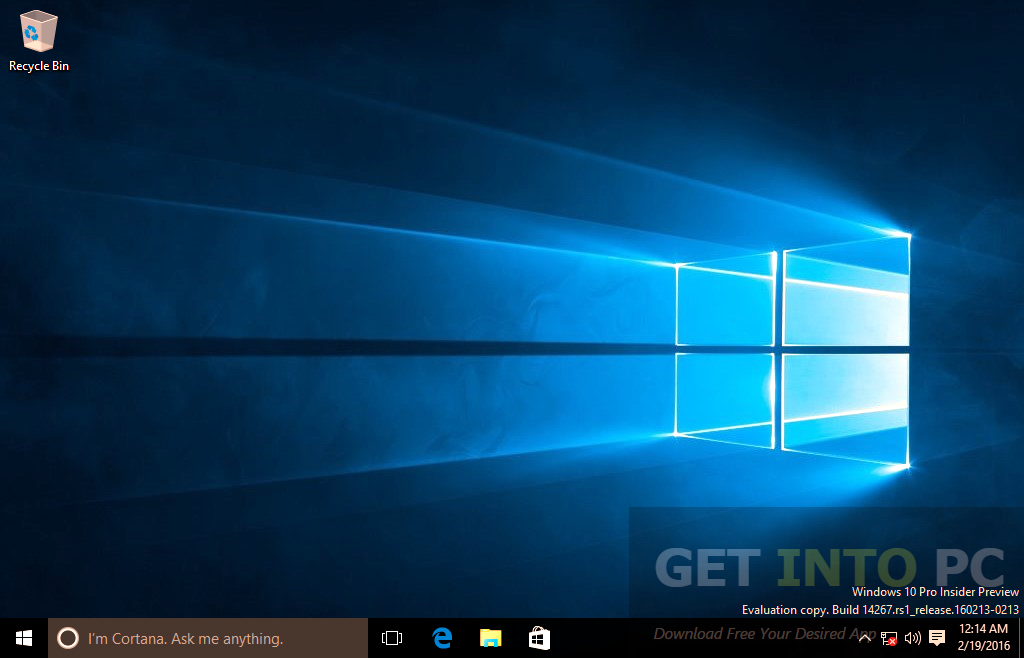 Windows 10 Redstone 14267 Pro ISO Direct Link Download