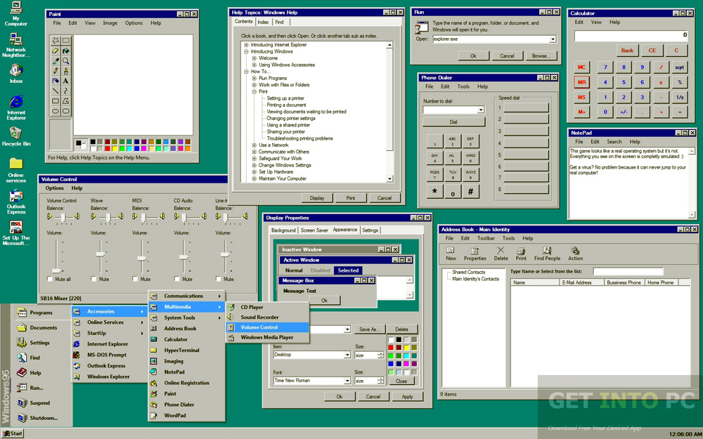 Windows 95 ISO Offline Installer Download