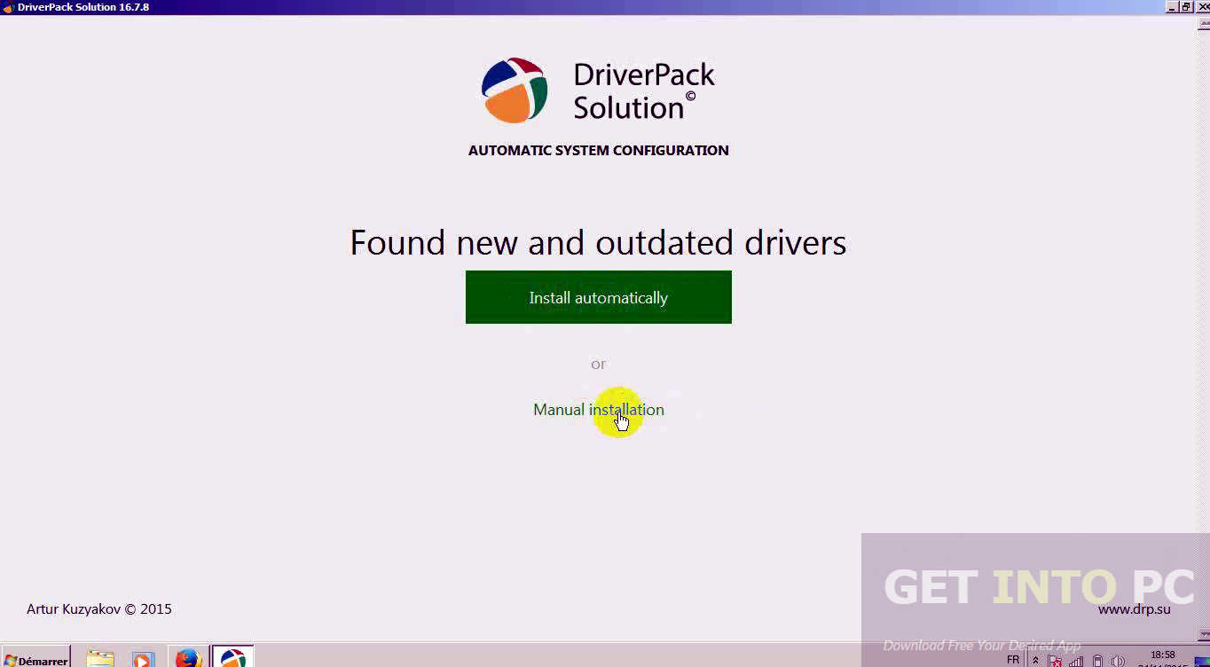 DriverPack Solution 17.4.5 Final 2016 ISO Offline Installer Download