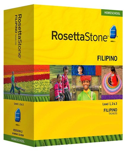 Rosetta Stone Filipino with Audio Companion Free Download