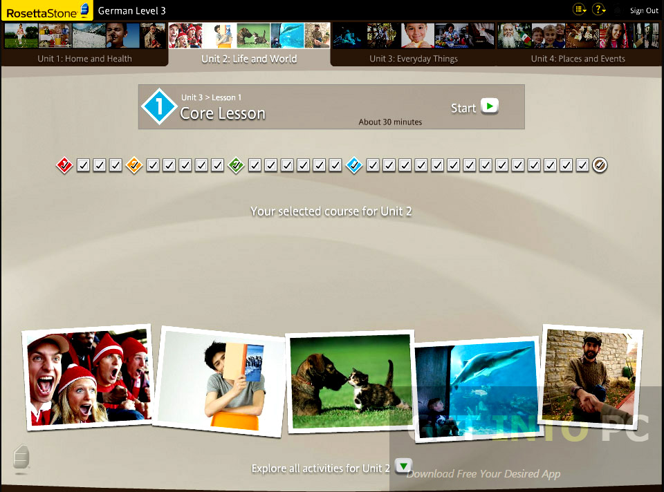 how to download rosetta stone for free mac