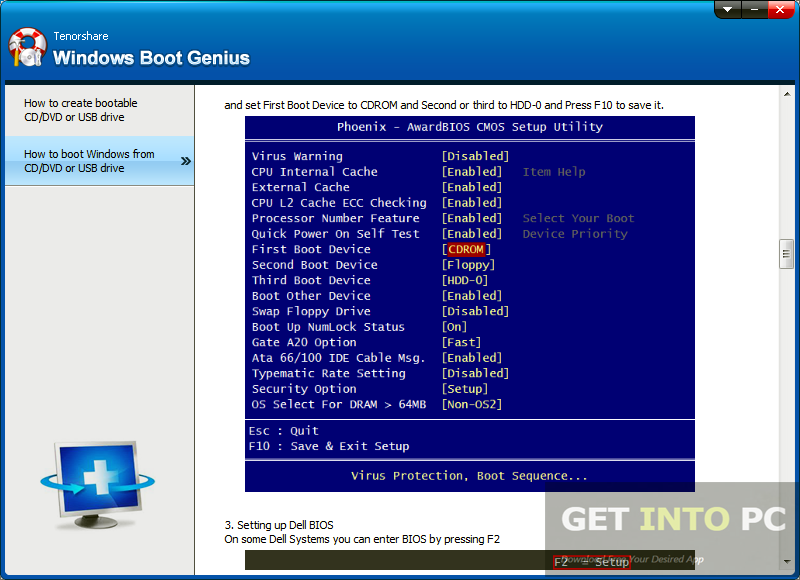 Tenorshare Windows Boot Genius Offline Installer Download