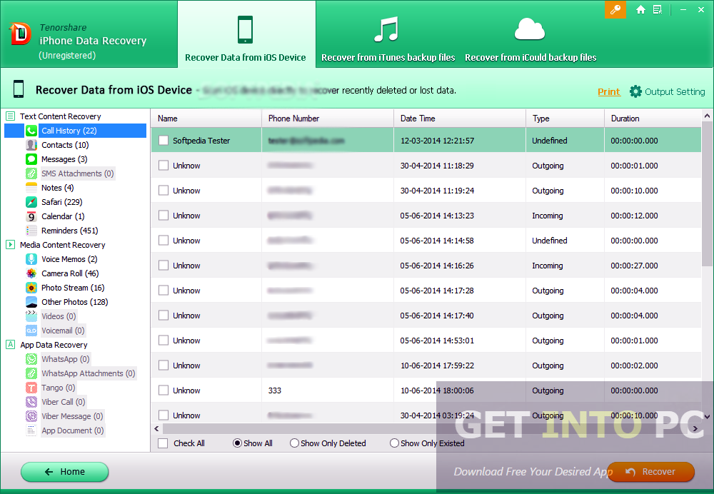 Tenorshare iPhone Data Recovery Direct Link Download