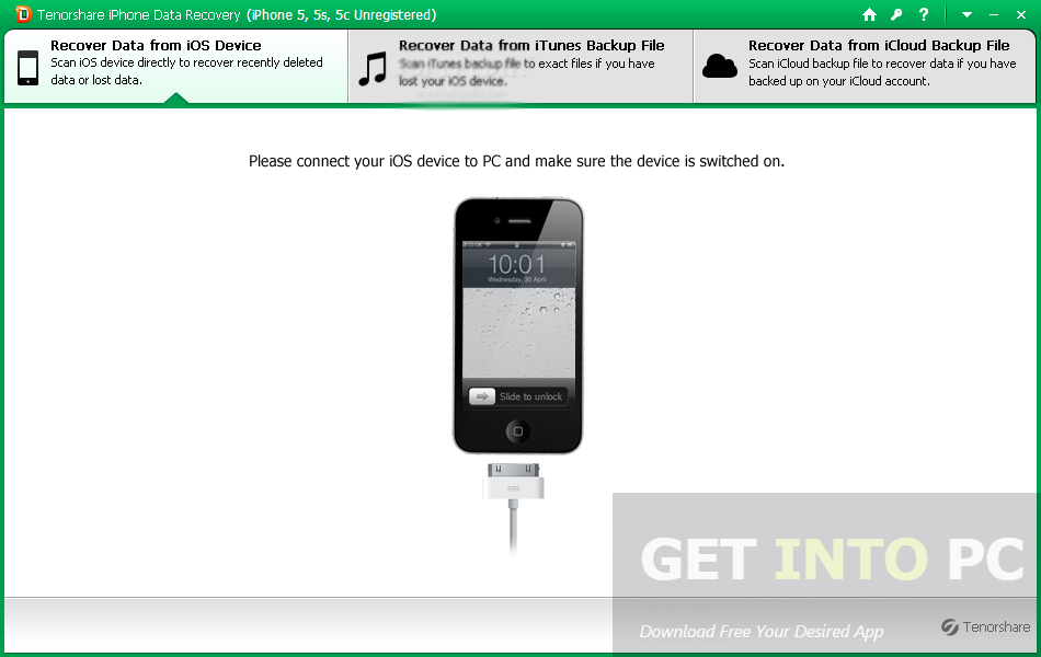Tenorshare iPhone Data Recovery Latest Version Download