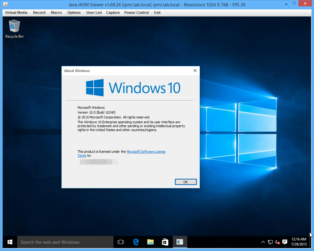 Windows 10 pro vl x64 iso march 2016 updates download for Window 10 pro