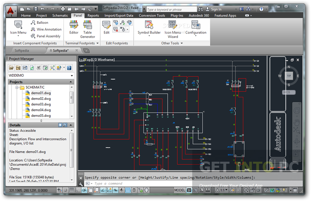 AutoCAD Electrical v2017 64 Bit ISO Offline Installer Download